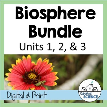 Environmental Science: Biosphere- Lessons, Webquests, and Lab Activities