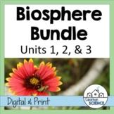 Environmental Science: Biosphere Bundle- Lessons, Webquests, and Lab Activities