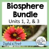 Environmental Science: Biosphere Bundle- Lessons, Webquests, and Lab Activities