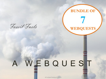 Environmental Science Webquest Bundle