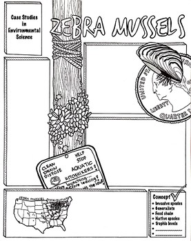 Zebra Mussels Worksheets & Teaching Resources | Teachers Pay ...