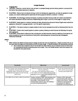 Environmental Science and Language Arts Research Policy Assignment