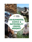 Environmental Science and Sustainability Careers Webquest