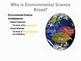 Environmental Science is Interdisciplinary: Power Point Presentation