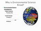 Environmental Science is Interdisciplinary: Student Guided Notes