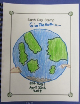 Earth Day Scrapbook Project