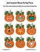 Environmental Shape Sorting Mats ~ Pumpkins ~ Halloween Thanksgiving Fall