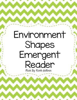 Environmental Shapes Emergent Reader