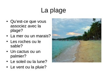 Environmental Vocabulary in French