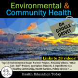 Environmental Health and Community Health Unit Bundle: 1 to 4 Weeks of Lessons