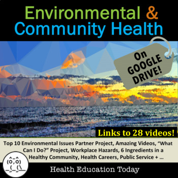 Environmental Health and Community Health Unit Bundle: 1 t
