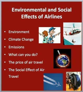 Environmental and Social Effects of Airlines - PowerPoint