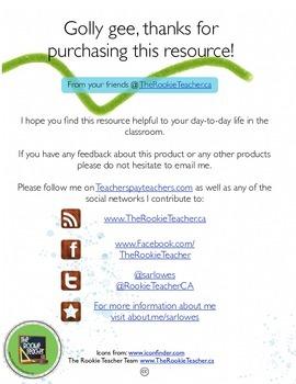 Environmental/Outdoor Education Contract