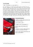 Environmentally friendly cars. Reading, writing, creating.