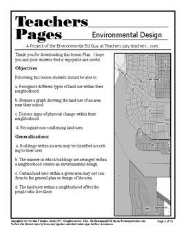 Environmentl Design - An investigation of a neighborhoood