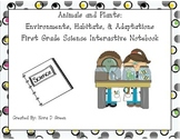 Environments, Habitats, & Adaptations First Grade Science