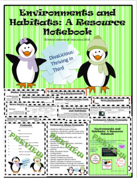 Environments and Habitats: A Resource Notebook