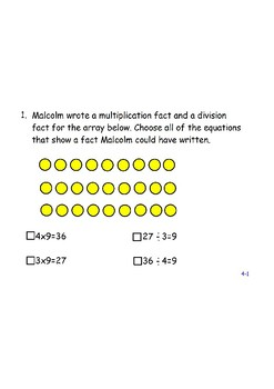 Envision 2.0 Grade 3 Topic 4 Review