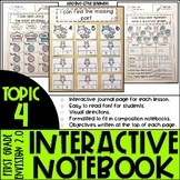 Envision 2.0 Interactive Notebook First Grade Topic 4