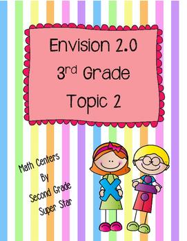 Envision 2.0 Math Centers Grade 3 Topic 2