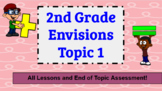 Envision Math 2nd Grade Topic 1 Supplement Digital and Printable Bundle