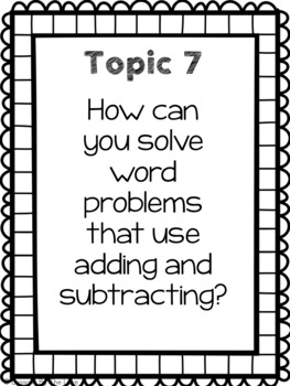 Envision Essential Questions 2nd Grade
