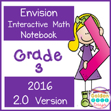 Envision Gr 3 Interactive Notebook 2016 Realize 2.0 Version