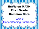 Envision Grade 1 Topic 2 Understanding Subtraction For Activboard