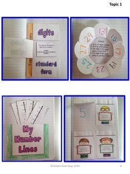 Envision Aligned Grade 3 Interactive Notebook (2012 Version)