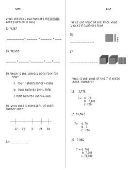 Envision Grade 3 Topic 1