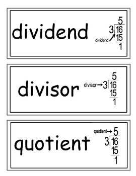 Envision Grade 4 Topic 4 Vocabulary Word Wall Cards