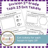 Envision Math 1st Grade Topic 15