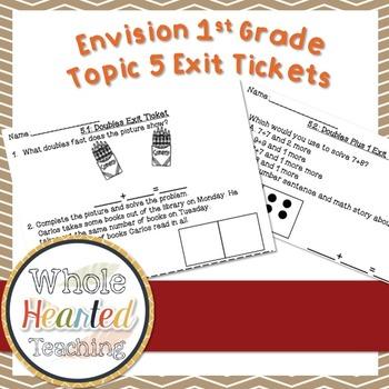 Envision Math 1st Grade Topic 5