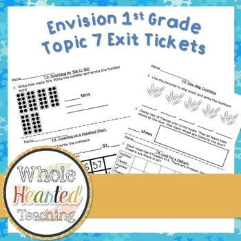 Envision Math 1st Grade Topic 7