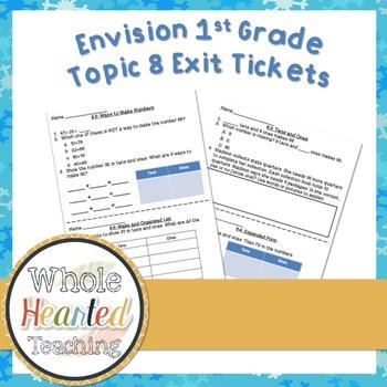 Envision Math 1st Grade Topic 8