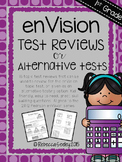 Envision Math: 1st Grade Topic Test Reviews