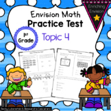 Envision Math 2.0 1st Grade Topic 4 Review Practice Test