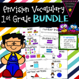 Envision Math 2.0 1st Grade Vocabulary BUNDLE