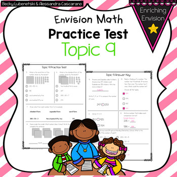 Envision Math 2.0 2nd Grade Topic 9 Review Practice Test