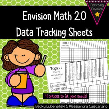 Envision Math 2 0 Data Recording Sheets 2nd Grade