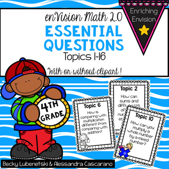 Envision Math 2.0 Essential Questions 4th Grade
