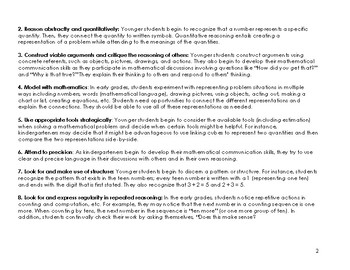 Envision Math 2.0 Kindergarten Topic 4