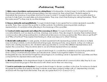 Envision Math 2.0 Kindergarten Topic 8