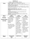 Envision Math 2.0 Lesson Plans Grade 1 - Topic 9