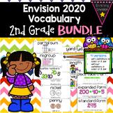 Envision Math 2020 2nd Grade Vocabulary Cards *BUNDLE* Topics 1- 15