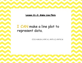 "Envision Math 2020 Grade 4 Topic 11 lesson titles, ""I Can"" statements, and CCSS"