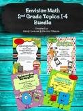 Envision Math 2nd Grade (2010) Topics 1-4 Bundle!