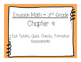 Envision Math 2nd Grade Ch.9 Exit Tickets, Quick Checks, F