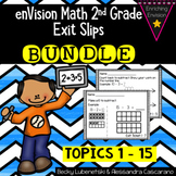 Envision Math 2.0 2nd Grade Exit Slip Ticket BUNDLE