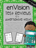 Envision Math: 2nd Grade Topic Test Reviews